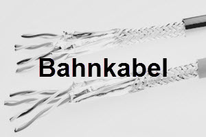 Bahnkabel High speed data cable signal cable power cable cat 5a cat 7 rl wire te connectivity