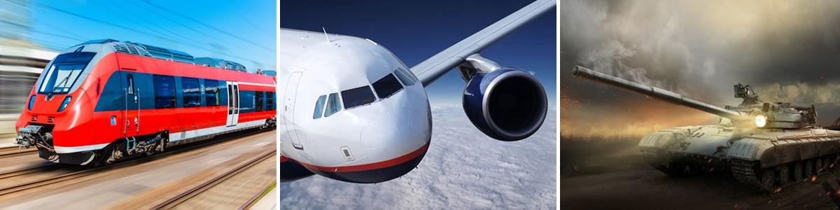 Bahntechnik-Flugzeugtechnik-Militrtechnik